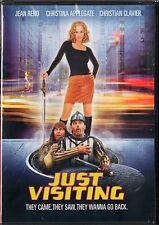 Just Visiting (DVD, 2001) Christina Applegate, Jean Reno, Christian Clavier PG13