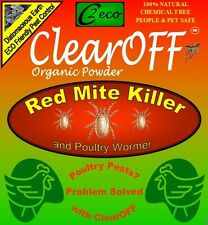ClearOFF Organic Powder 10KG Bed Bugs Flea Tic Lice Mite KILLER House Treatment