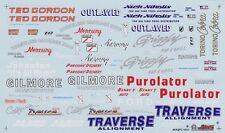 Slixx Logo sheet - Racing Sponsors - Fender Logos Traverse - Gilmore  #1935