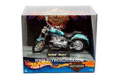 1:18 Scale Hot Wheels Harley-Davidson Motorcycles Softail Deuce