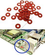 Lot50 Orange Fabric Washer/Insulator, Screw Insulating for Motherboard/PC Board