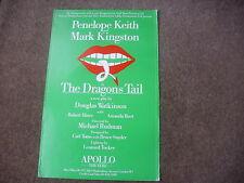 The  DRAGON's TAIL  Penelope Keth  APOLLO Theatre Original Poster