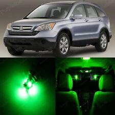 8 x Ultra Green LED Lights Interior For Honda CR-V CRV 2007 - 2012 + Pry TOOL