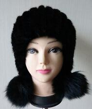 New style Braid Genuine MINK fur cap / fur HAT/ headbands/black/ shipping free