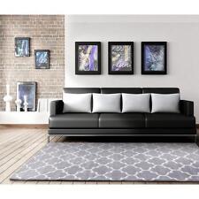 Grey Beige Designer Floor Rug Carpet Large XXL SIZE 230X320cm  Free Delivery