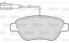 4x VALEO Plaquettes de Frein Avant pour FIAT GRANDE 500 PEUGEOT BIPPER 598426