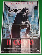Y6 MANIFESTO ORIGINAL 4F IL CORVO THE CROW BRANDON LEE 1° EDIZIONE ITALIANA 1994