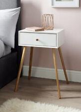 Bjorn Bedside Table - White