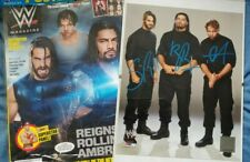 Wwe The Shield Hand Signed Photo Package Dean Ambrose Seth Rollins Roman Reigns