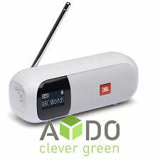 JBL Tuner 2 Bluetooth® Speaker Lautsprecher FM DAB+ Digital Radio Weiß