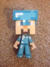 Minecraft Diamond Steve Figure