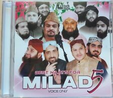 Best Naats pour Milad 5 - VOIX seulement - Naat islamique Naat BANDE SONORE CD