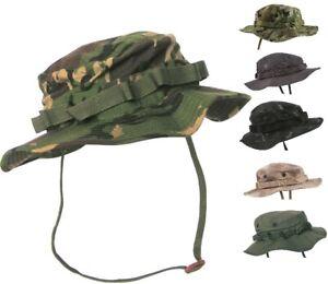 NEW: KombatUK US Army Style Jungle Military Webbing Durable Ripstop Boonie Hat