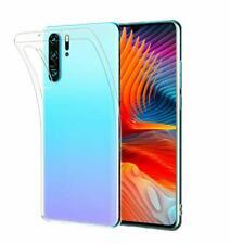 Custodia per Huawei P20 Lite P30 SMART 2019 Pro P Silicone Ibrida Gel Trasparente Cover