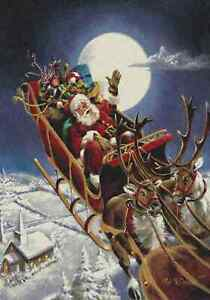 Milliken Holiday Santa's Big Night Area Rug