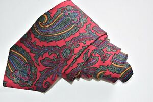 """POLO BY RALPH LAUREN FLORAL/RED Men's Neck Tie W: 3 1/2"""" by L:57"""""""