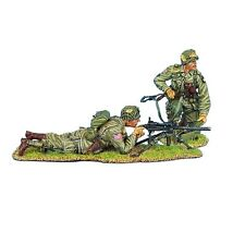 NOR012 US 101st Airborne Paratrooper .30 Cal. Browning MG Team by First Legion