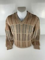 Vintage Dimensions by Milford (Coogi Style) Sweater sz M Biggie Hip Hop Cosby