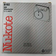 Nu Kote B192 Ibm Wheelwriter 3 5 6 Black Correctable Film Cassette 01 0192 250