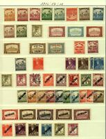 "Hungary 1916/7 range of issues to include ""kir posta"" & ""Koztarsasag"" ove Stamps"