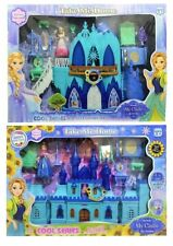 Frozen Elsa Ice Castle Palace Playset Toy Princess Elsa & Anna - Great Xmas Gift