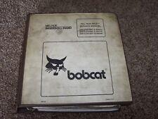 Bobcat Ingersoll Rand 763 763H BICS Skid Steer Loader Shop Service Repair Manual