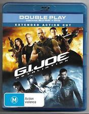 G.I. Jane Retaliation Blu ray + DVD Playable worldwide New