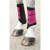 Shires Arma Neoprene Brushing Boots in Raspberry