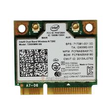 Dual Band HP 717381-001 INTEL WIRELESS N CARD 7260HMW AN 300Mpbs WLAN+BT 4.0