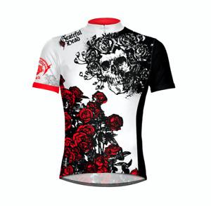Grateful Dead Skull & Roses Men's Sport Cut Cycling Jersey