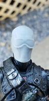 """Custom G.I. Joe Commando Snake-Eyes UNPAINTED Head scale 6"""""""