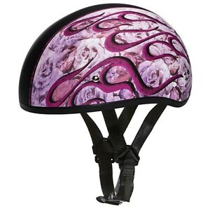 Daytona Biker Helmet, D.O.T. Approved 1/2 Shell, (Skull Cap), Graphic Group*