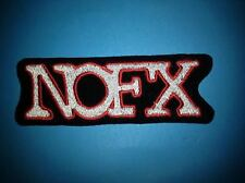 NOFX Hard Rock Music Iron On Hat Jacket Backpack Hoodie Metal Patch Crest