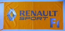 RENAULT FLAG SPORT FORMULA ONE - SIZE 150x75cm (5x2.5 ft) - BRAND NEW