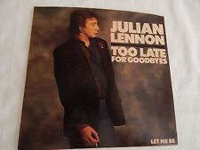 "Julian Lennon ""Too Late For Goodbyes"" PICTURE SLEEVE! NEW! MINT!! PERFECT!!"