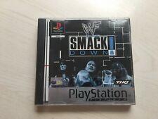WWF Smackdown! Playstation 1 (ps1) Game UK PAL