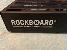 ROCKBOARD QUAD 4.2 - Pedalboard für Gitarren- oder Basseffekte mit Tasche