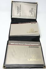 1998 Lexus Es300 Es-300 Owner Owners Owner's Manual Supplement & Leather Case