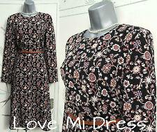 M&S Limited Edition - Stunning 40's Style Tea Dress Sz 10 EU38