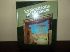 Explorations in Literature for Christian Schools  Student Text BJU Press