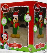 Christmas Disney 3.5 ft Light Up Mickey Mouse Airblown Inflatable Nib