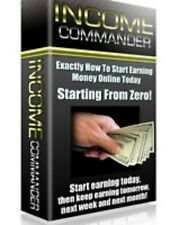INCOME COMMANDER PDF eBook with Full resale rights!