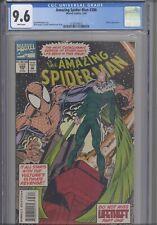 AMAZING SPIDER-MAN #386 CGC 9.6 1994 Marvel Vulture App Life Theft Pt 1
