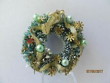 Dollhouse One Inch Scale Christmas Wreath