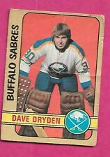 1972-73 OPC # 241 SABRES DAVE DRYDEN  HIGH # FAIR CARD (INV# C1606)