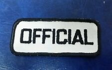 OFFICAL NAME TAG PATCH