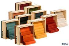 KAPLA Steine 40er Box verschiedenen FARBEN - Holzbausteine 40 farbige Plättchen