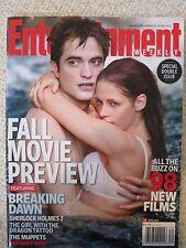 Entertainment Weekly Magazine August 19 / 26, 2011 Twilight Breaking Dawn