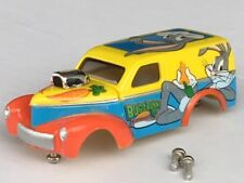 Thunderjet LooneyTunes 40 Willys HO Slot Car Body Fit Aurora Dash Tjet Chassis