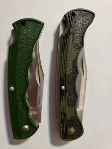 Buck USA Bucklite 426 V  Camo Knife and a stainless Taiwan (2 knives)